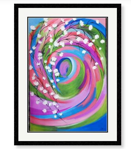 'A Floral Display' Limited Edition Giclee Art Print