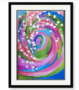 'A Floral Display' Giclee Art Print