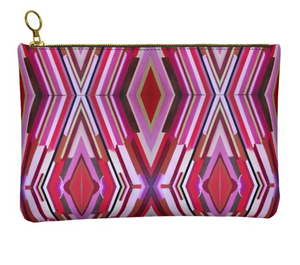 'Lou Lou' Women's Leather Clutch Bag