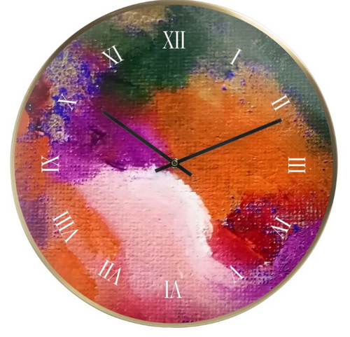 'Joy' Wall Clock