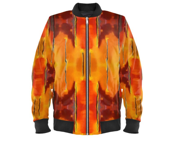 'Fuego' Men's Bomber Jacket