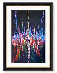 'What Love Feels Like' Limited Edition Giclee Art Print
