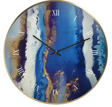 Load image into Gallery viewer, 'Blue Heaven' Wall Clock
