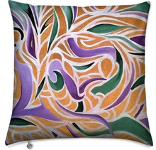 Load image into Gallery viewer, 'Fleur D'or 'Luxury Designer Cushions