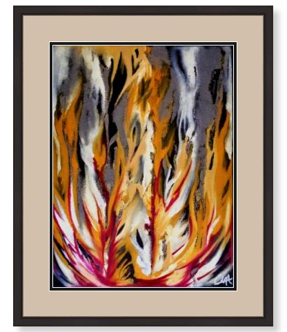 'Rising' Limited Edition Giclée Art Print
