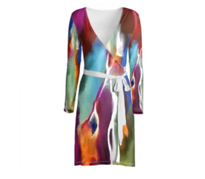 'Nora' Women's Wrap Dress