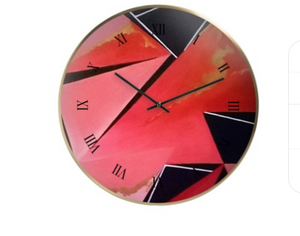 'Earth Time' Wall Clock