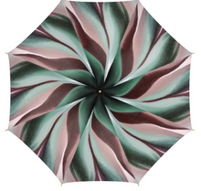 Load image into Gallery viewer, 'Earth Grid' Unique Luxury Umbrella