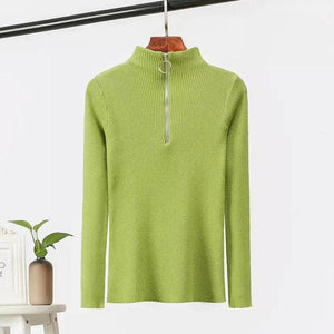Eira Turtleneck zipper top