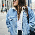 Load image into Gallery viewer, Alba Denim Jacket with fur