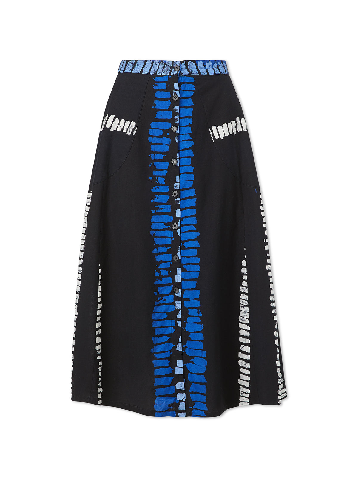 A Line Ladder Skirt