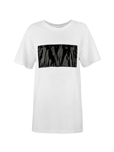 Patched Front T-shirt