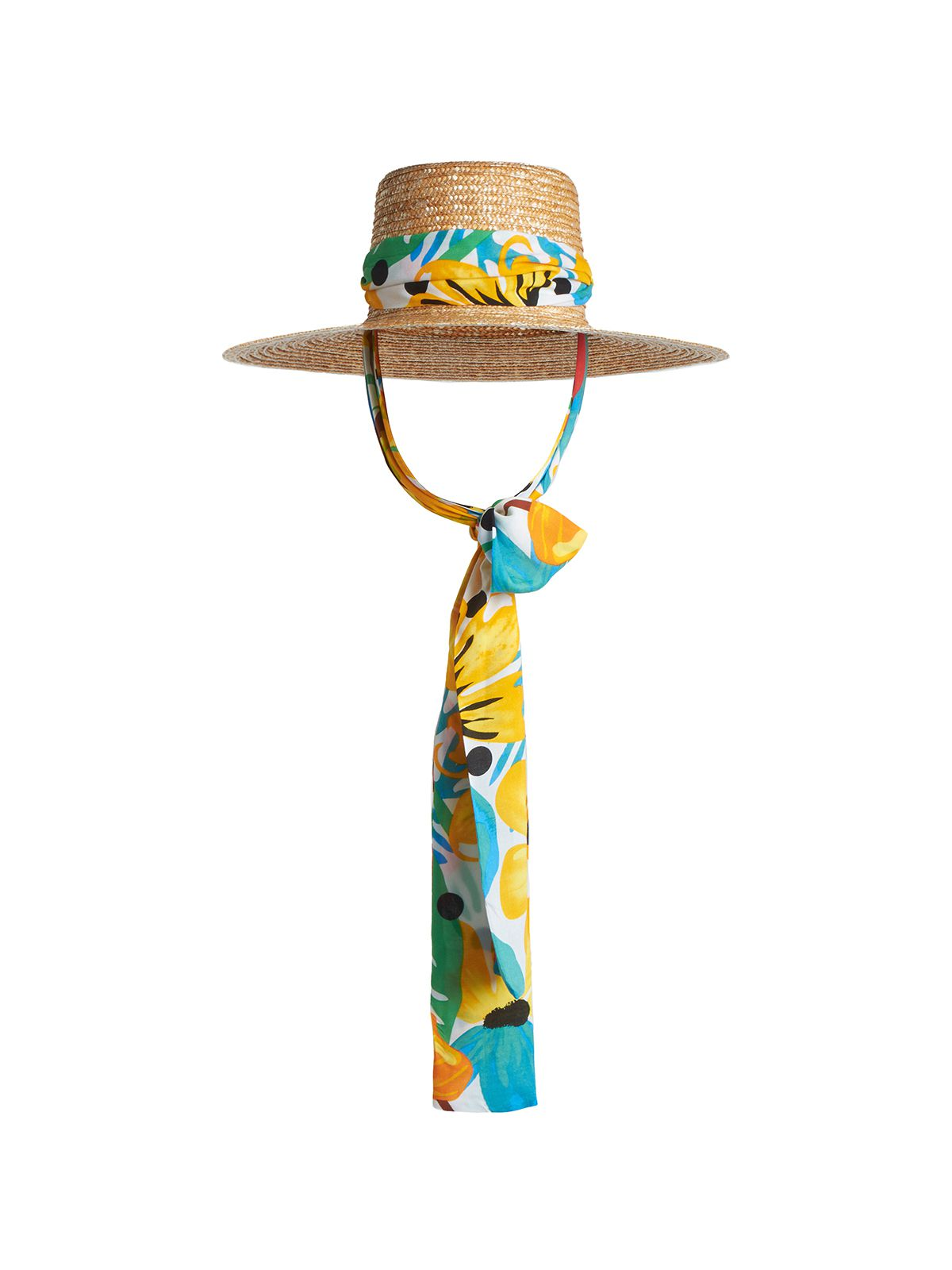 Kara Sunhat with Interchangeable Sash