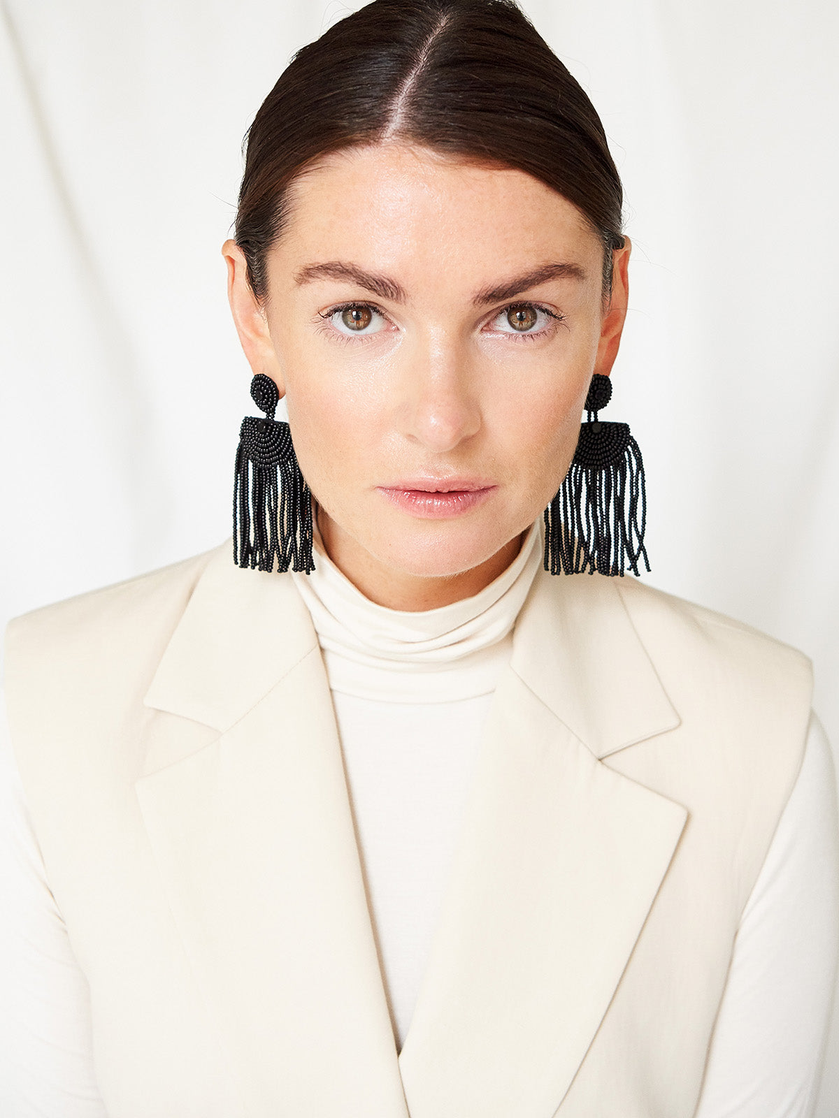 Kifungo Short Tassel Earrings