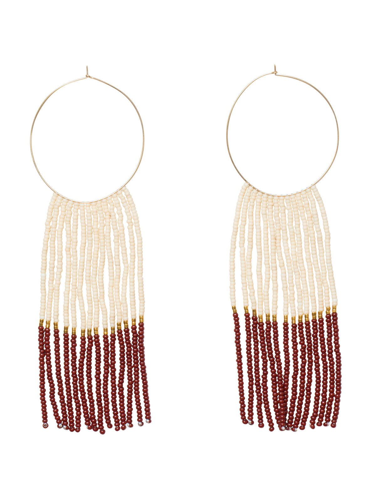 Pembetatu Large Hoop Earrings