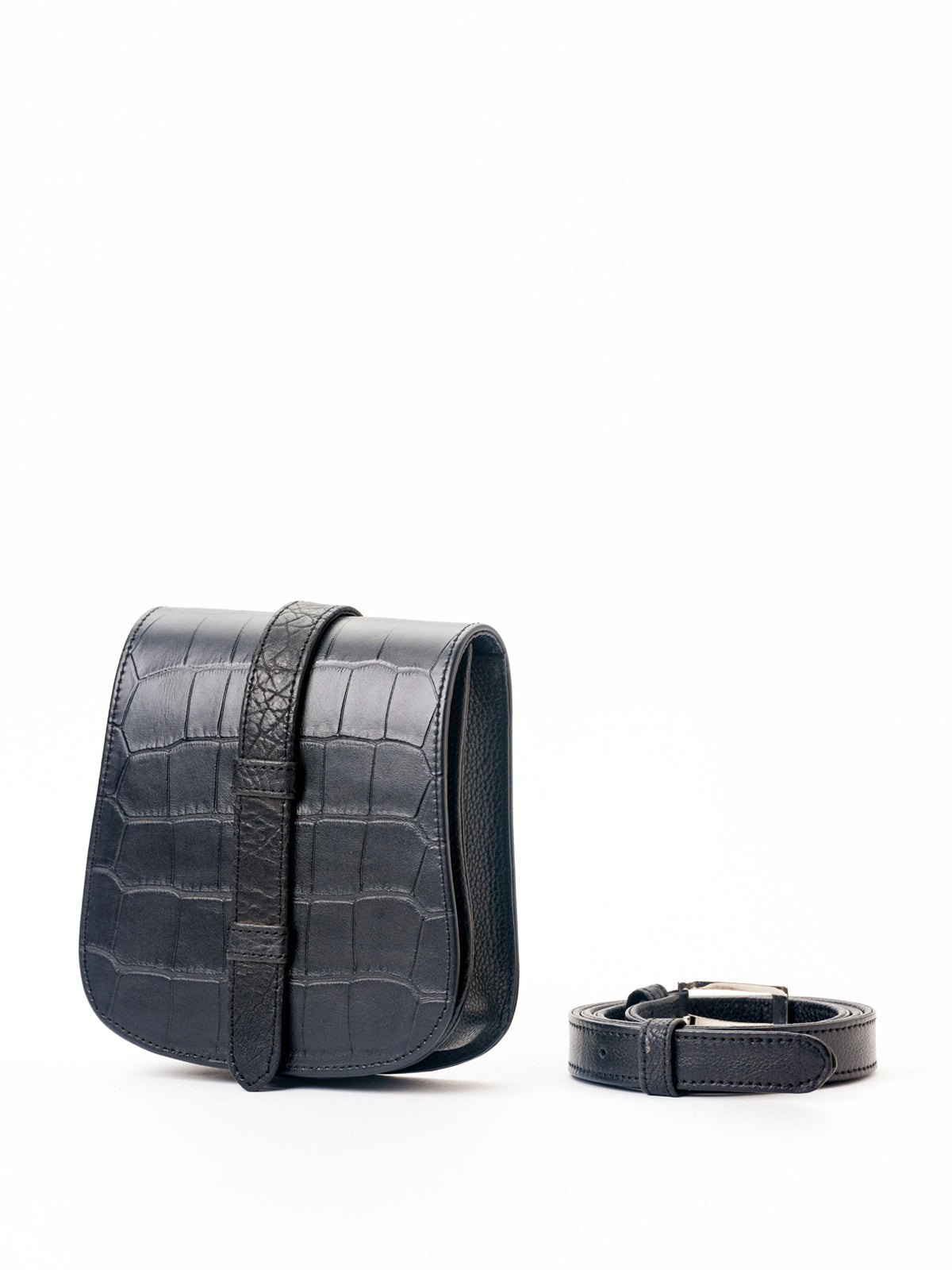 Black Nafa Belt Bag