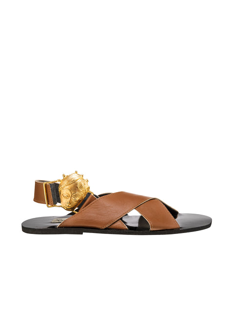 Brown Fah Regal Sandals