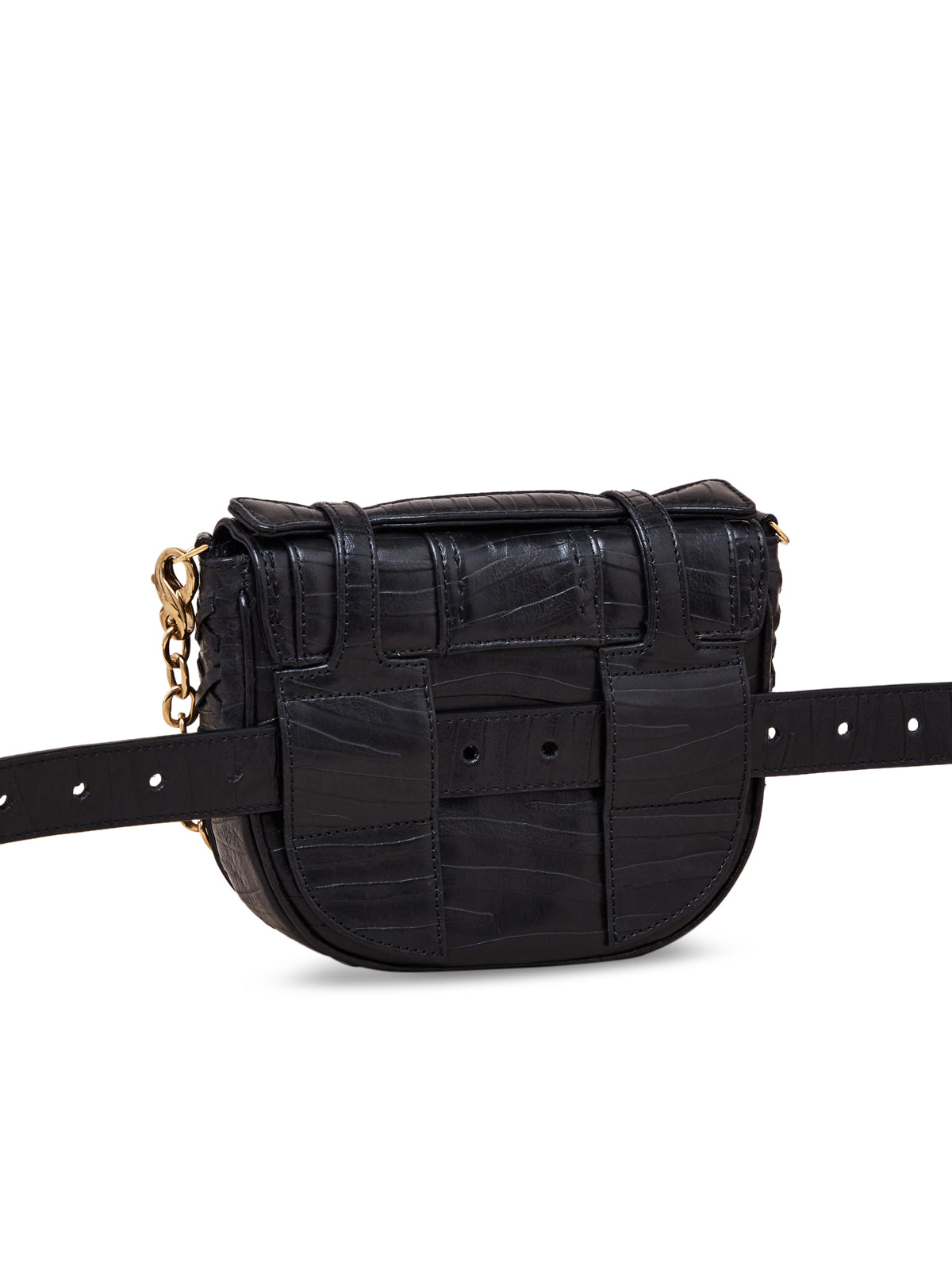 Small Black Yemaja Shoulder Bag