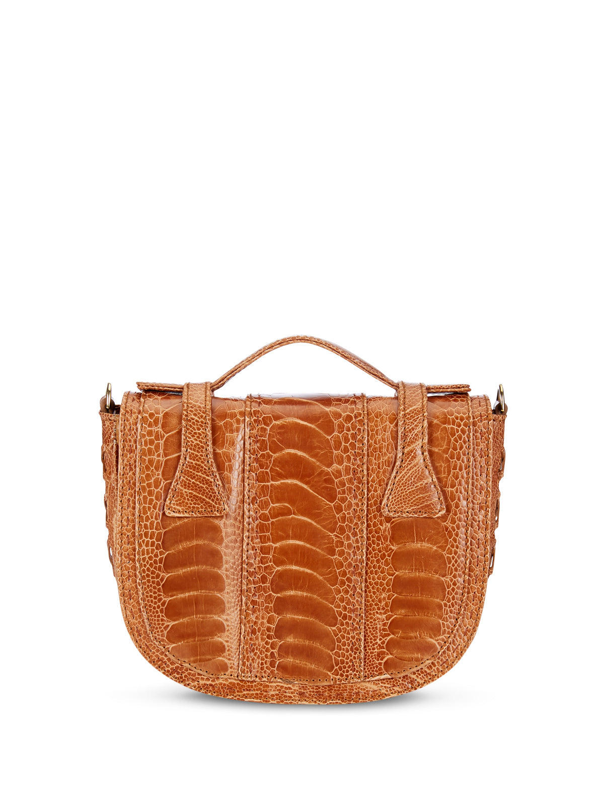 Small Burnt Amber Yemaja Shoulder Bag