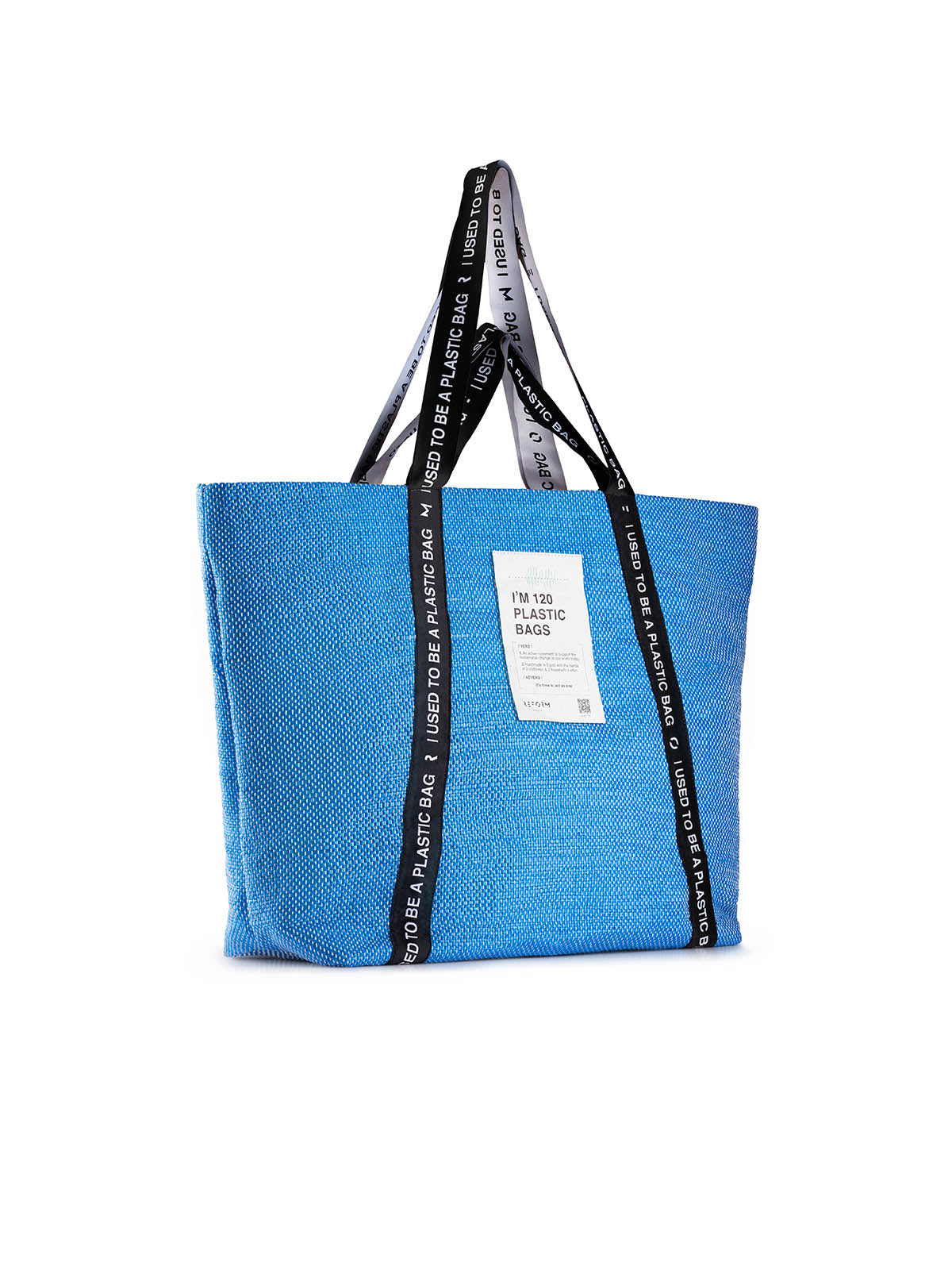 Rebel Tote Bag in Blue