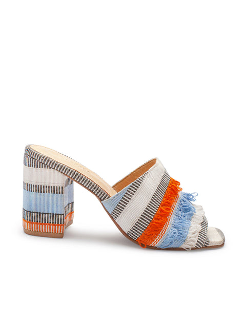 Light Blue Ilamoye Mule