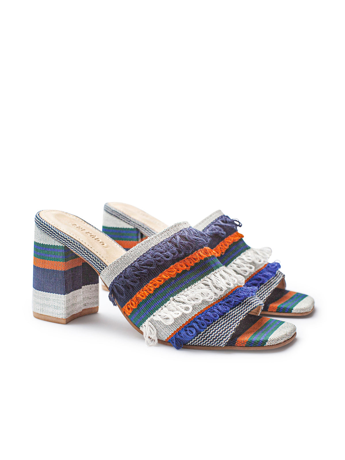 Dark Blue Ilamoye Mule