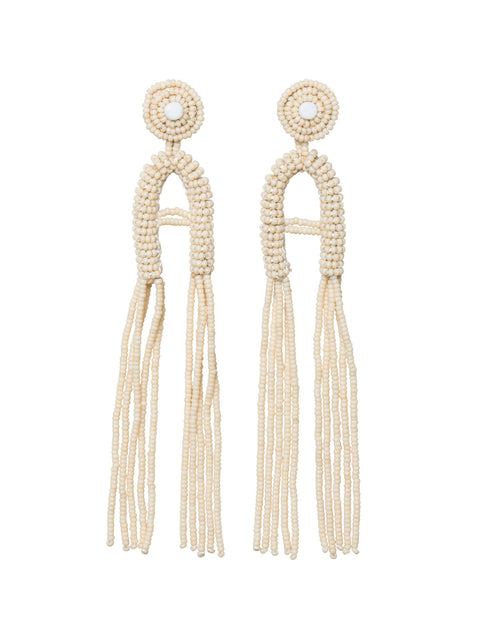 Kifungo Double Tassel Earrings