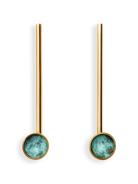 Verdigris Earrings