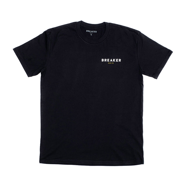 Break the Status Quo Tee  - Black