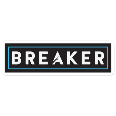 Breaker Sticker