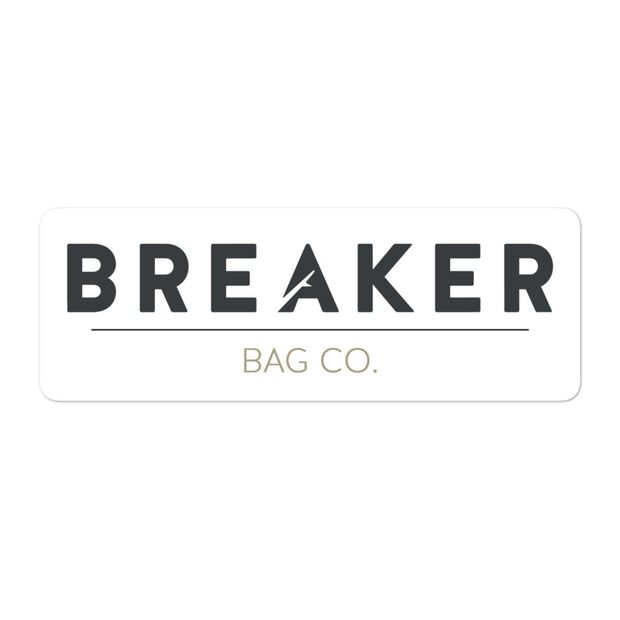 Breaker Bags Co. Sticker