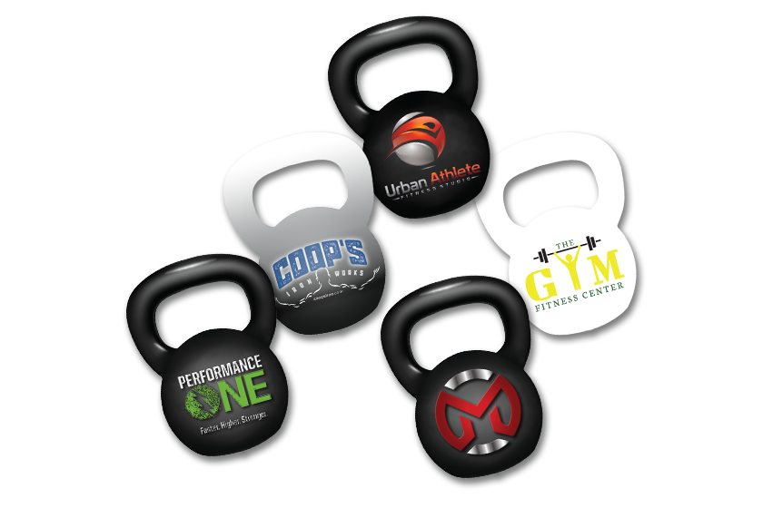 Custom Designed Kettle Bell Key Tag