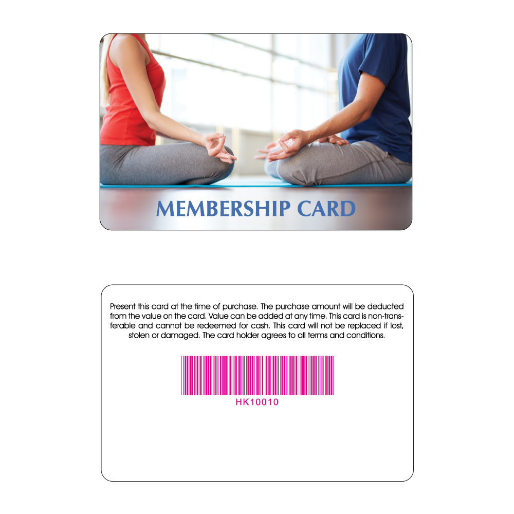 Yoga Membership Card - Partner Yoga