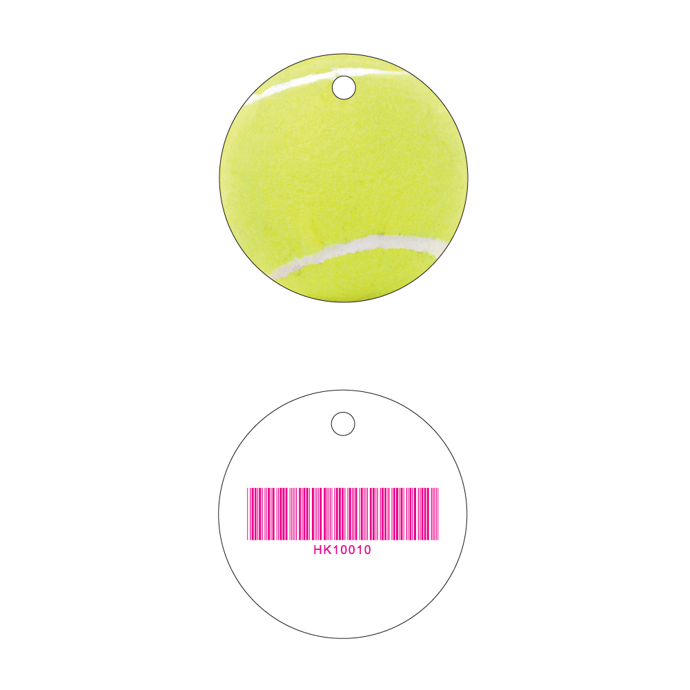 Tennis Key Tag