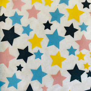 Multi Colored Stars - Underglaze Transfer Sheet
