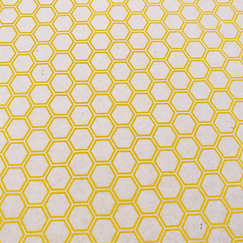 Honeycomb - Underglaze Transfer Sheet - You Choose Color