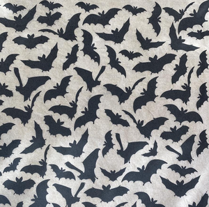 Bats - Underglaze Transfer Sheet - Black
