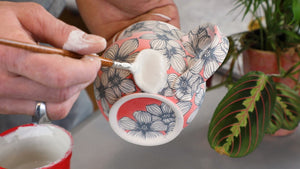 Glazing an Elan Transfer Mug - Video - instant download