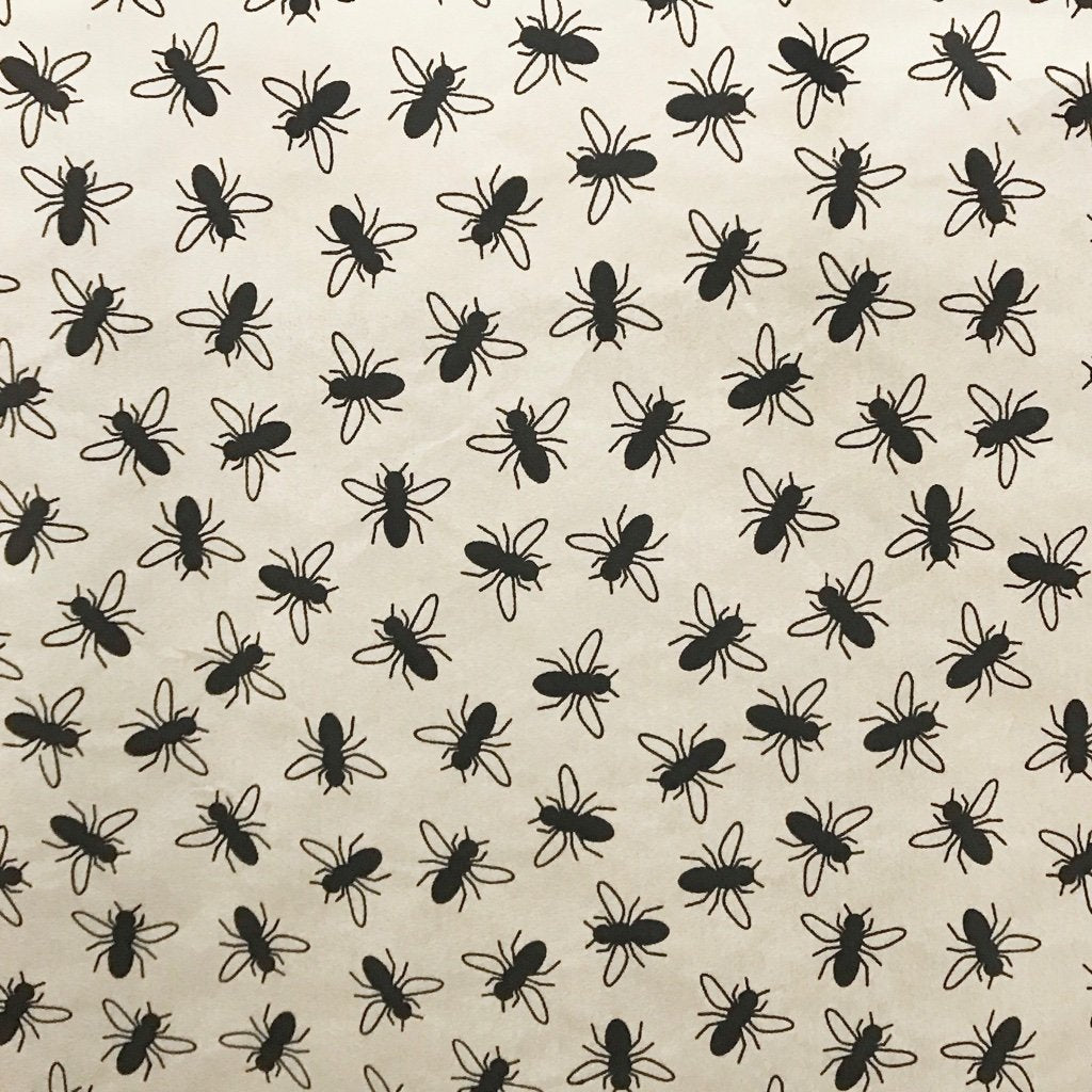 Flies - Underglaze Transfer Sheet - Black