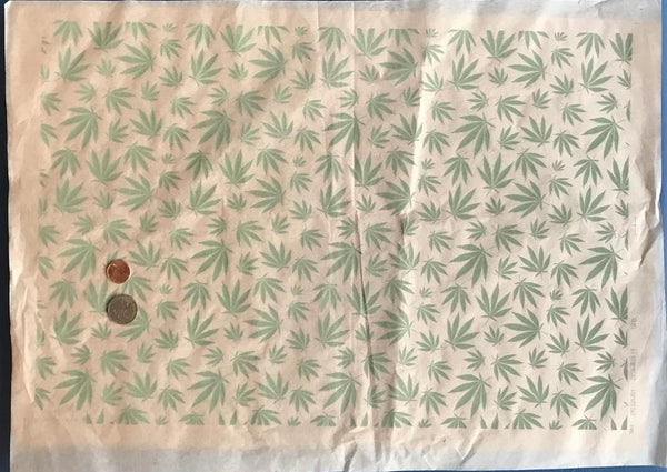 Mary Jane Leaves - Underglaze Transfer Sheet - You Choose Color