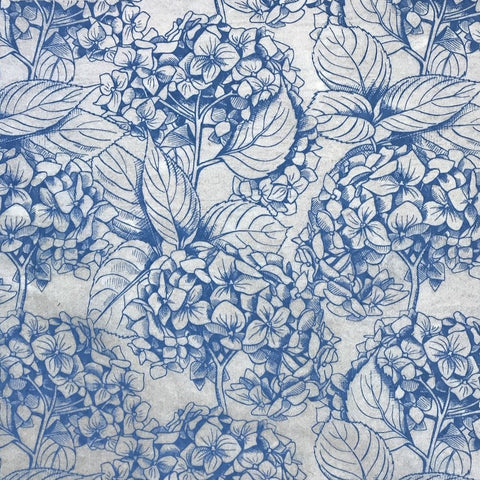 Hydrangea - Underglaze Transfer Sheet - You Choose Color