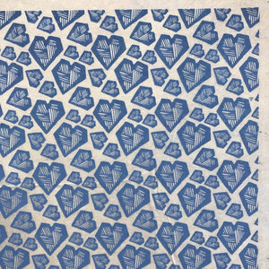 Hearts - Underglaze Transfer Sheet - You Choose Color