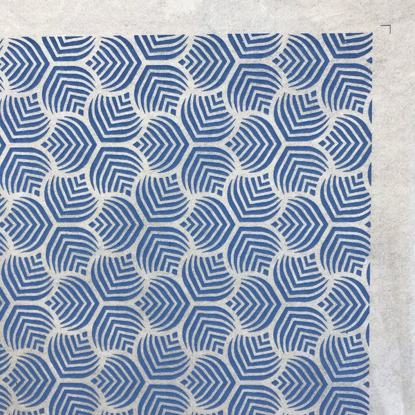 Sound Waves - Underglaze Transfer Sheet - You Choose Color