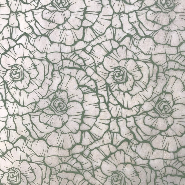 Roses - Underglaze Transfer Sheet - You choose color