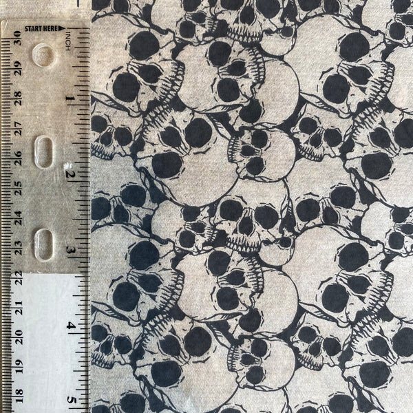 Skulls OG - Underglaze Transfer Sheet - Black