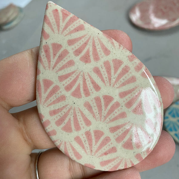 Fans - Underglaze Transfer Sheet - You Choose Color
