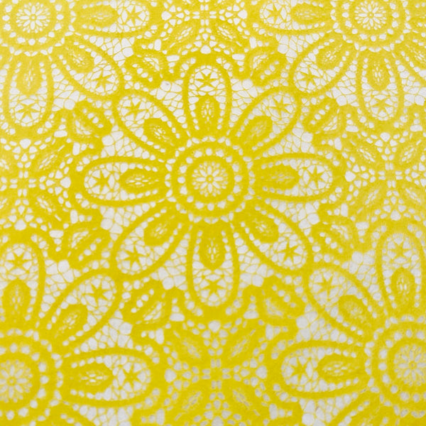 Lace - Underglaze Transfer Sheet - You Choose Color