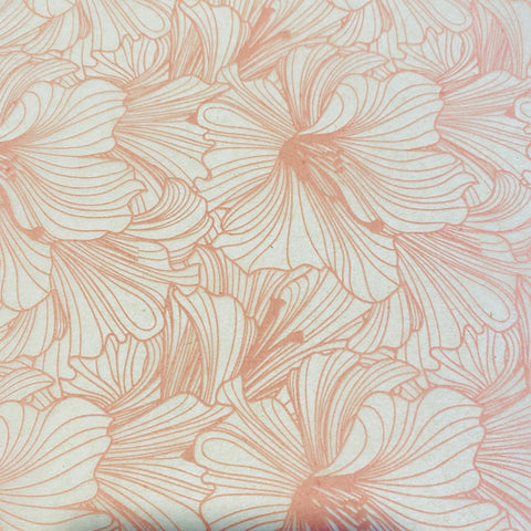 Hibiscus - Underglaze Transfer Sheet - You Choose Color