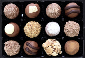 Milk Chocolate Truffles Selection