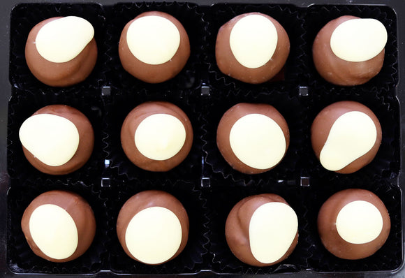 Box of 12 Peanut Butter Truffles.